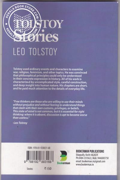 back image of Tolstoy Stories