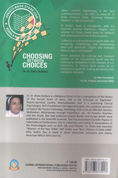 back image of Choosing Between Choices