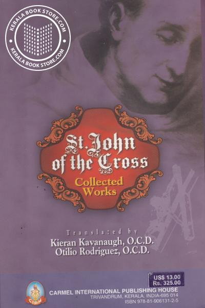 back image of Collected Works of St. John of the Cross