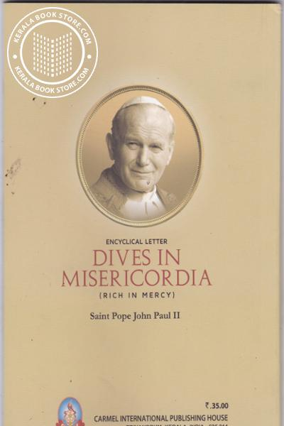 back image of Dives in Miericordia