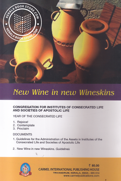 back image of New Wine in new Wineskins