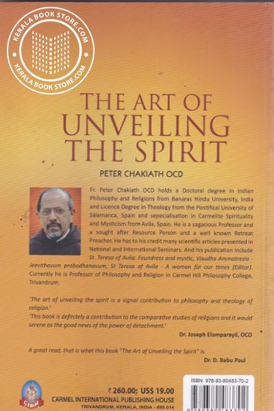 back image of The Art of Unveiling the Spirit