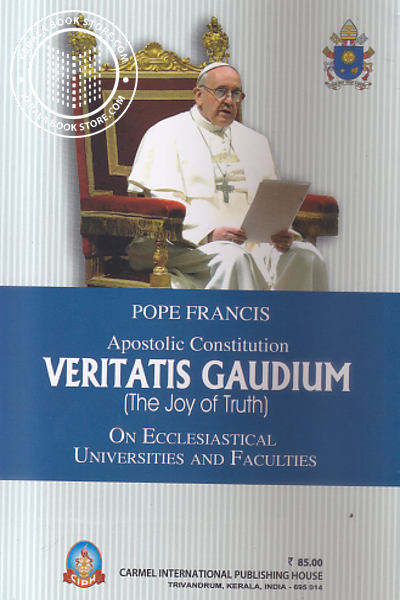 back image of Veritatis Gaudium -The Joy of Truth-