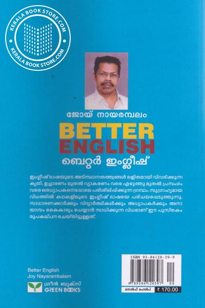 back image of Better English