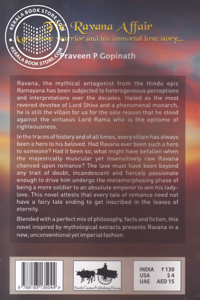 back image of The Ravana Affair