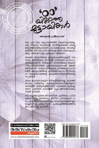 back image of Tta Yillatha Muttayikal