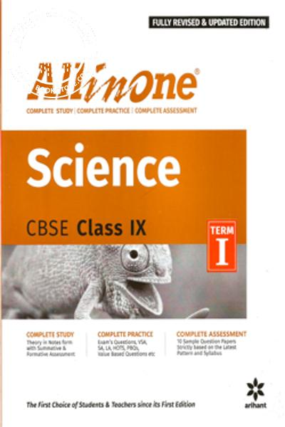 back image of ALL IN ONE SCIENCE CBSE CLASS IX TERM - I