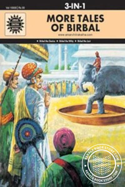 Cover Image of Book More Tales Of Birbal-3 in 1-