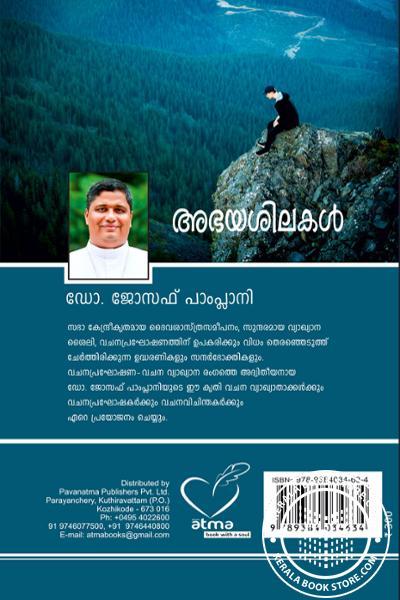 back image of അഭയശിലകള്