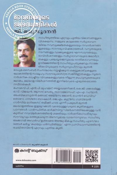 back image of Bhavanayute Jalasthalikal