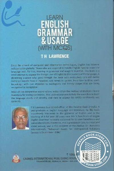 back image of Learn English grammer Usage