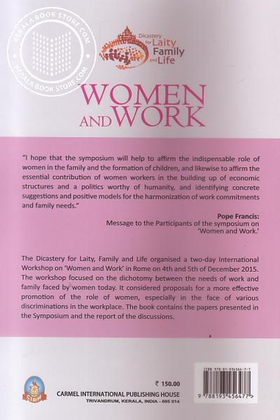 back image of Women and work