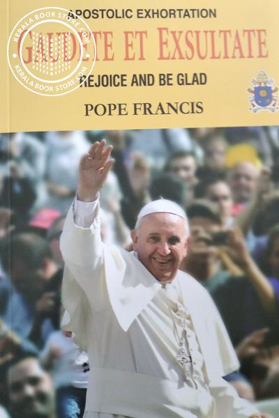 Cover Image of Book Apostolic Exhortation Gaudete EY Exsultate Rejoice and be Glad