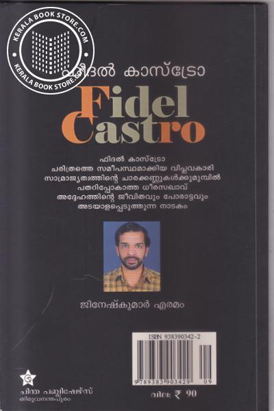 back image of Fidel Castro