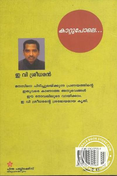 back image of കാറ്റുപോലെ