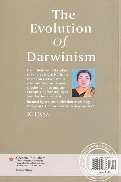 back image of The Evolution of Darwinism