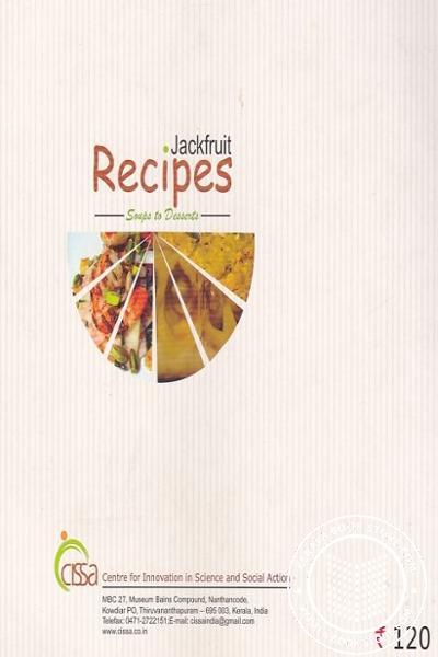 back image of Jackfruit Recipes - Soups to Desserts