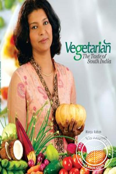 Cover Image of Book Vegetarian The Taste Of South India