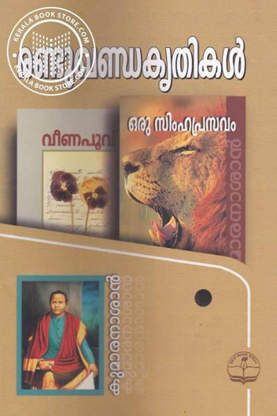 Cover Image of Book രണ്ടുഖണ്ഡകൃതികള്