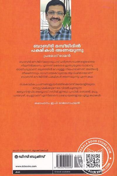 back image of ബാബ്രി മസ്ജിദിൽ പക്ഷികൾ അണയുന്നു