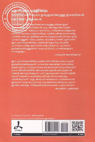 back image of എരിവും പുളിയും