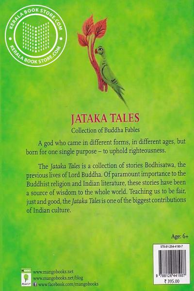 back image of Jataka Tales Collection Of Buddha Fables