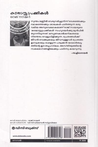 back image of കടലാസ്സുപക്കികള്