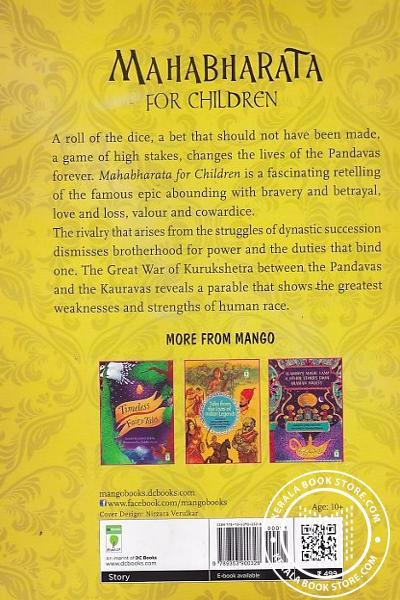 back image of Mahabharata For Children