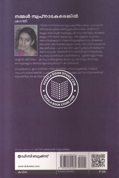 back image of Nammal Swapnatakarenkil