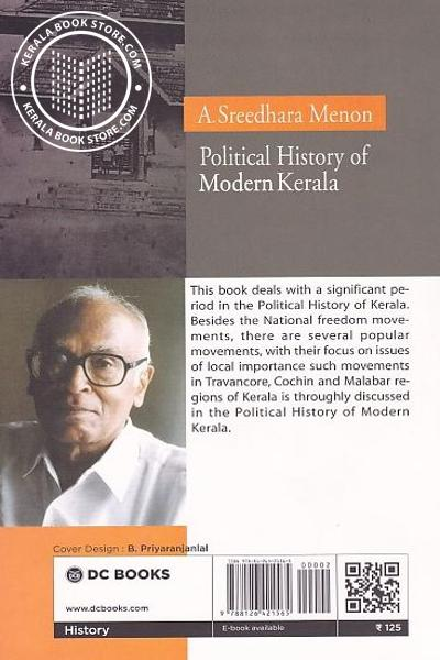 back image of Political History of Modern Kerala