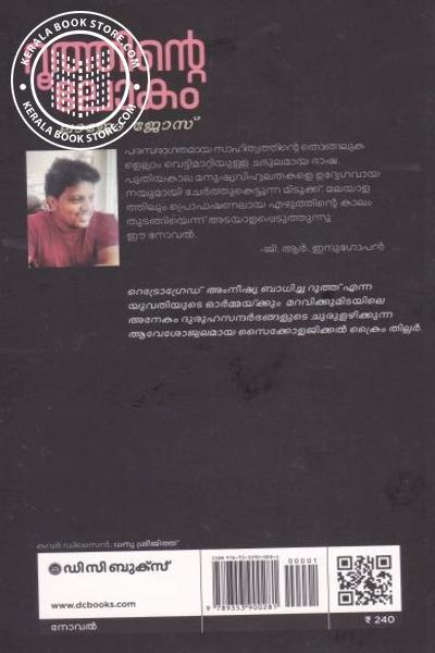 back image of Ruthinte Lokam