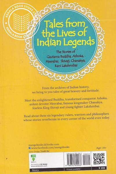 back image of Tales From the lives of Indian Legends