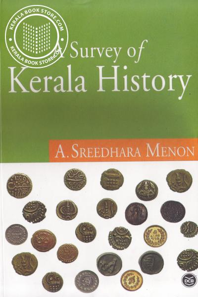 Cover Image of Book A survey of Kerala history