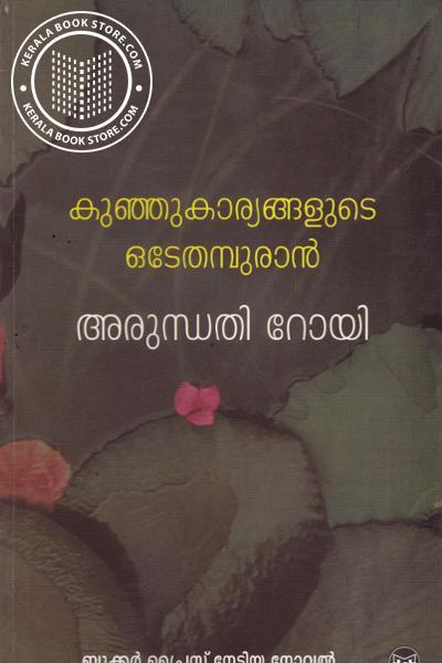 Cover Image of Book കുഞ്ഞുകാര്യങ്ങളുടെ ഒടേതമ്പുരാന്