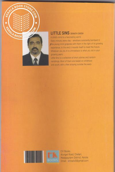 back image of Little Sins
