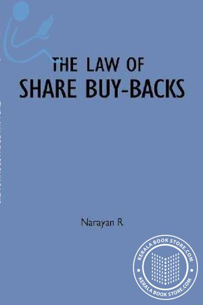 Cover Image of Book The Law of Share buy backs