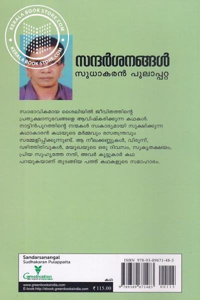 back image of സന്ദര്ശനങ്ങള്