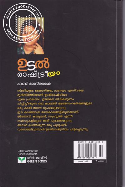 back image of ഉടല് രാഷ്ട്രീയം