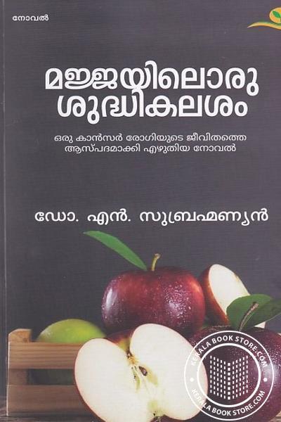 Cover Image of Book മജ്ജയിലൊരു ശുദ്ധികലശം