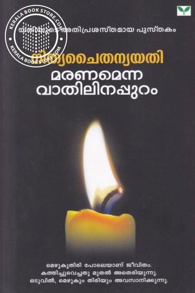 Cover Image of Book മരണമെന്ന വാതിലിനപ്പുറം