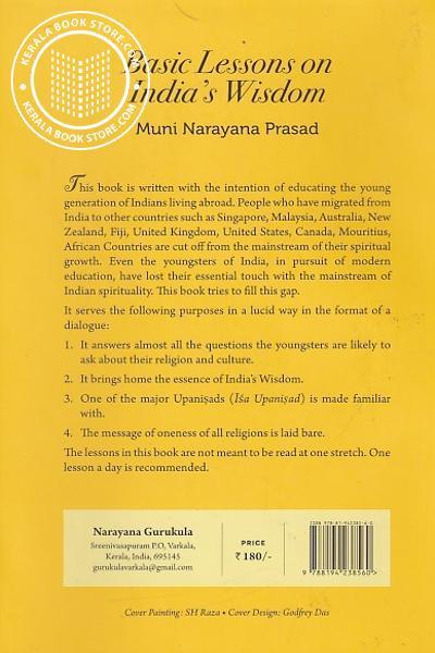 back image of Basic Lessons on India Wisdom