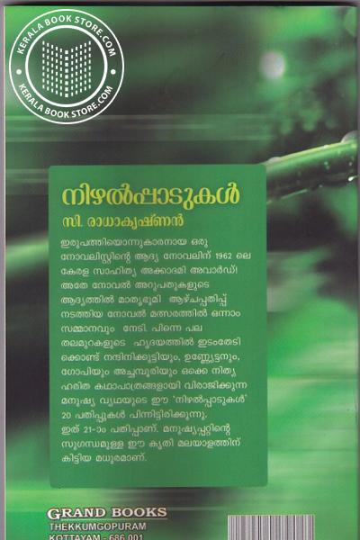back image of നിഴല്പ്പാടുകള്