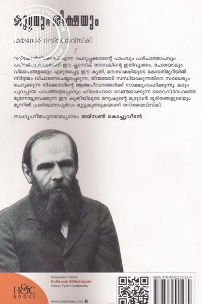 back image of Kuttavum Shikshayum