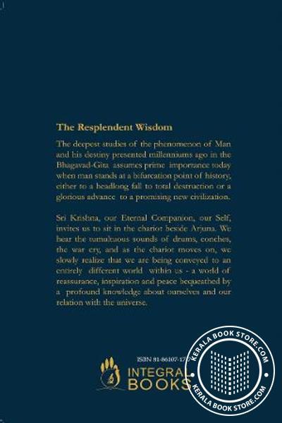 back image of The Self -A biological introduction to Bhagavad Gita Vol 1