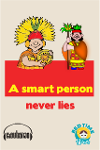 A Smart Person Never Lies