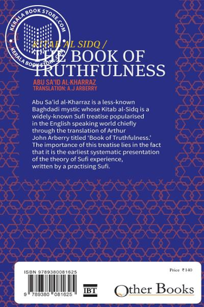 back image of The Book Of Truthfulness