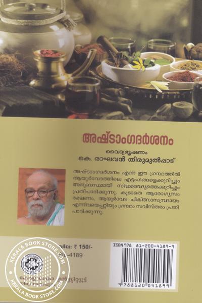 back image of Ashtangadarsanam