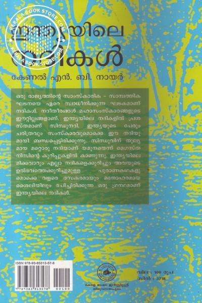 back image of ഇന്ത്യയിലെ നദികള്