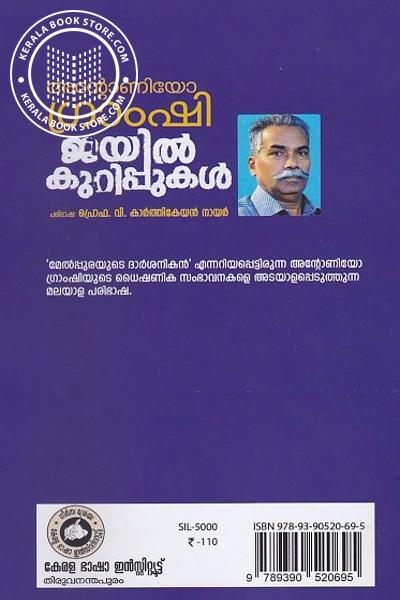 back image of ജയില് കുറിപ്പുകള്