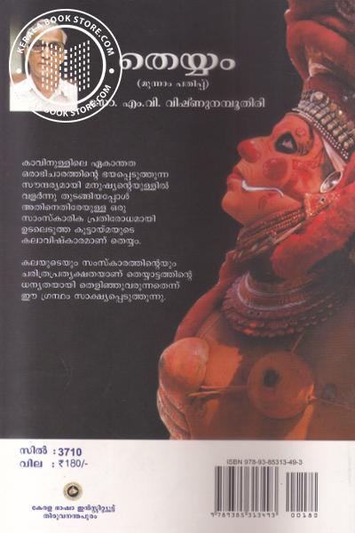 back image of Theyyam